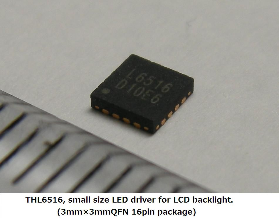 THL6516 for LCD backlight